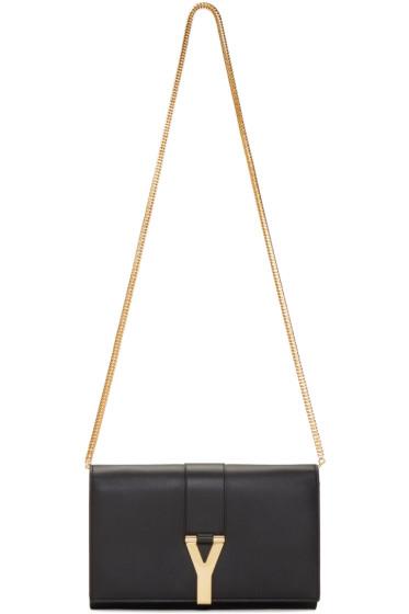 ysl chyc shoulder bag price - yves saint laurent off-white monogram tri-pocket bag, vogue ...