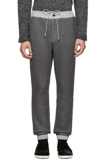 Sacai - Grey Lounge Pants