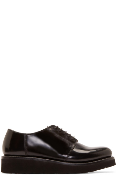 Grenson - Black Leather Robin Derbys