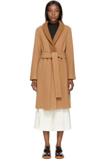 Stella McCartney - Camel Wool Coat