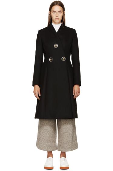 Stella McCartney - Black Wool Coat