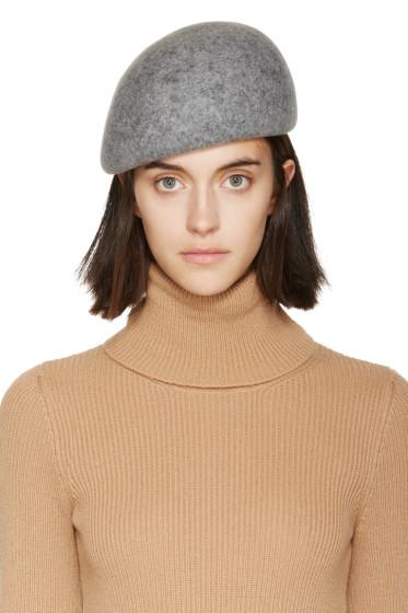 Stella McCartney - Grey Wool Beret