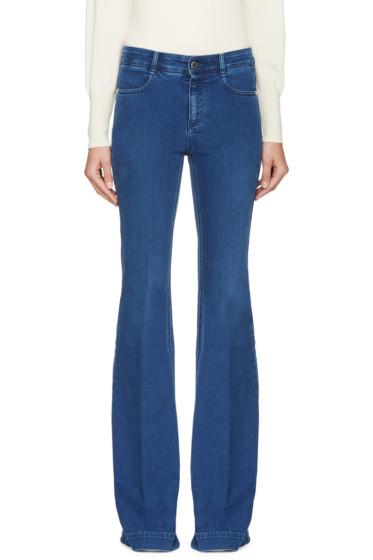 Stella McCartney - Blue Pacific Flare Jeans
