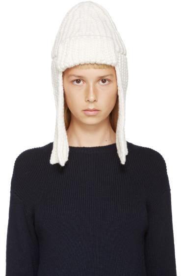 Stella McCartney - Ivory Merino Fisherman's Hat