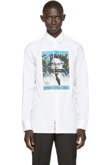A.Sauvage - White Le Gouverneur Shirt