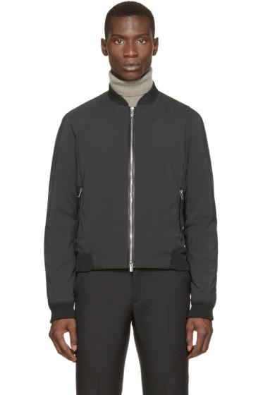 Costume National - Black Bomber Jacket