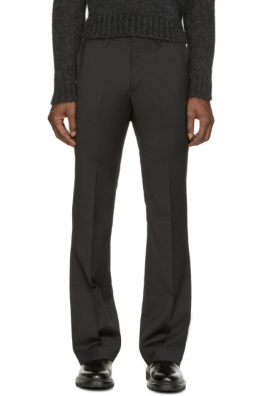 Costume National - Black Flared Trousers