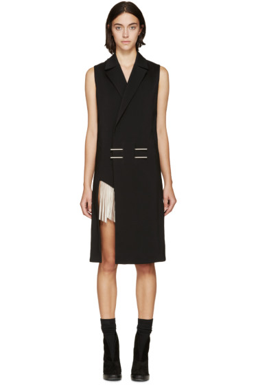 Anthony Vaccarello - Black & Silver Chime Vest