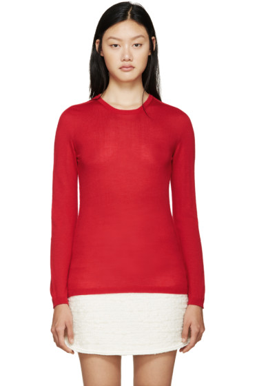 Giambattista Valli - Red Cashmere Sweater