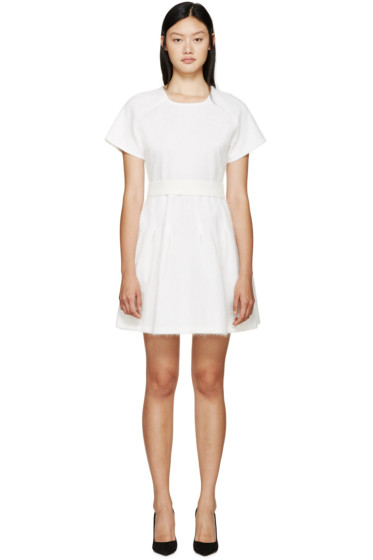 Giambattista Valli - White Angora Dress