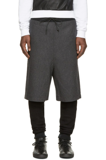 Giuliano Fujiwara - Grey & Black Layered Lounge Pants