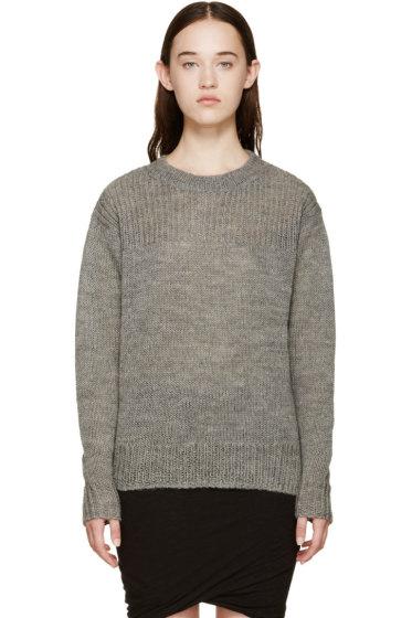 Isabel Marant Etoile - Grey Ludlow Crewneck Sweater