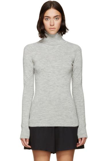 Isabel Marant - Grey Aspen Knit Filbert Turtleneck