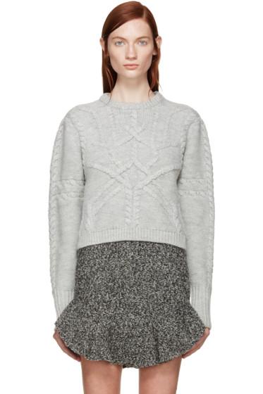 Isabel Marant - Grey Zermatt Denver Sweater