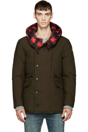 Colmar - Red Check & Green Reversible Coat