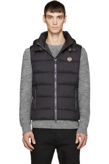 Colmar - Black Quilted Vest