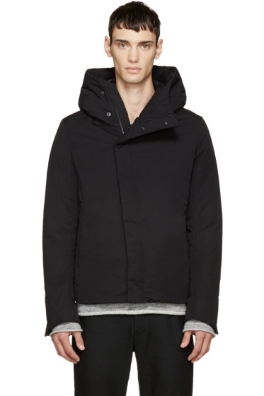 Attachment - Black Down-Filled Jacket