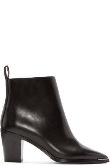 Acne Studios - Black Loma Ankle Boots