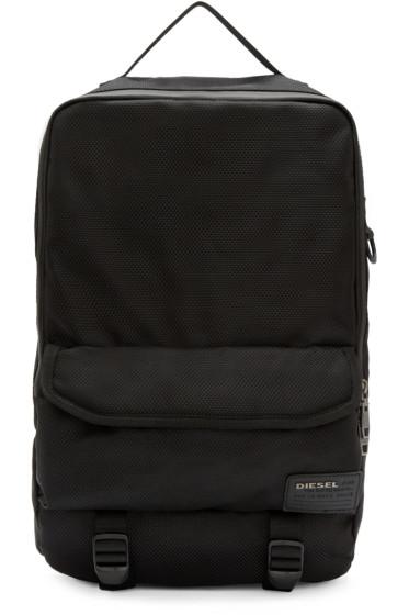 Diesel - Black F-Close Backpack