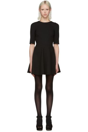 Dolce & Gabbana - Black Flared Short Dress