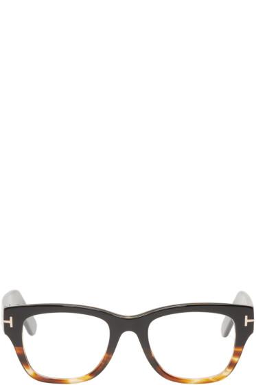Tom Ford - Black & Tortoiseshell TF5379 Glasses