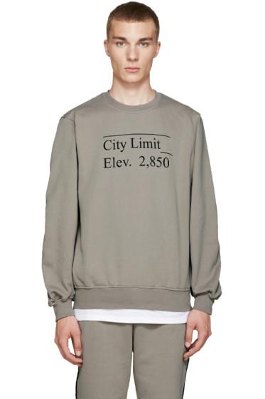 Public School - Beige Stoma Sweatshirt