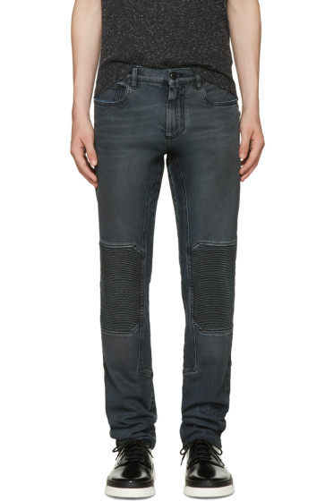 Belstaff - Black Coated Overdyed Jeans