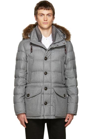 Moncler - Grey Down Rethel Jacket