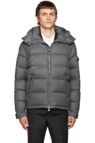 Moncler - Grey Down Mongenevre Jacket