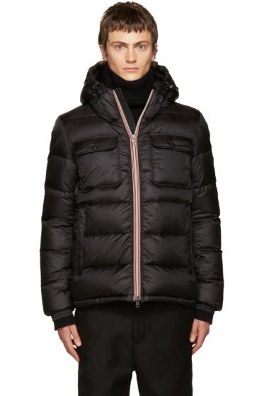 Moncler - Black Down Morane Jacket