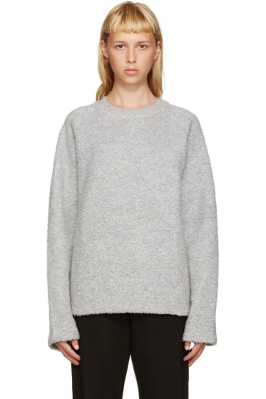 Acne Studios - Grey Wool Cassie Pullover