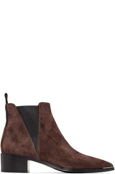 Acne Studios - Brown Jensen Boots
