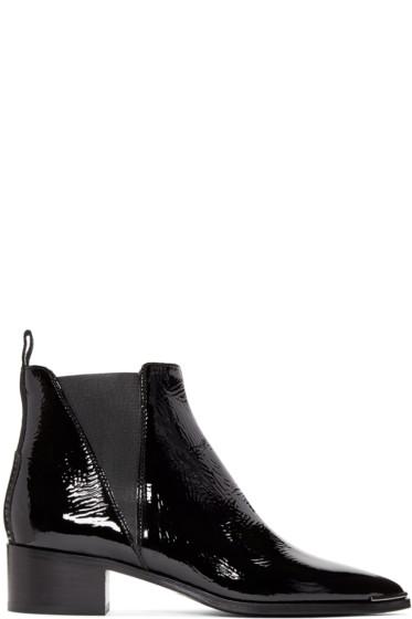 Acne Studios - Black Patent Jensen Boots
