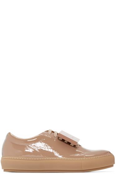 Acne Studios - Beige Adriana Sneakers