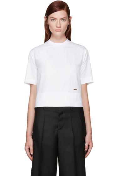 Dsquared2 - White Poplin T-Shirt