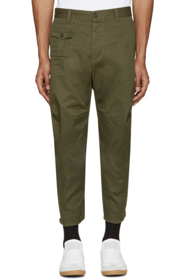 Dsquared2 - Green Tizzy Trousers