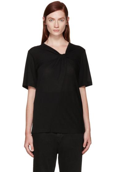 Maison Margiela - Black Knot Twist T-Shirt