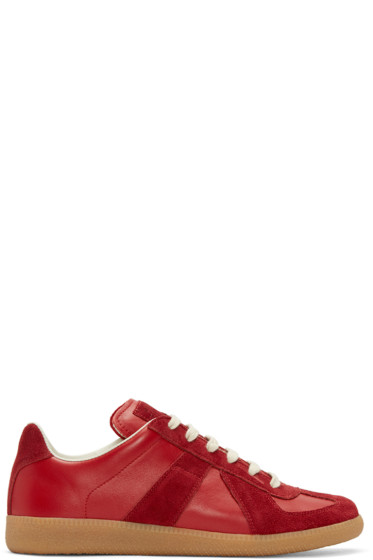 Maison Margiela - Red Replica Sneakers