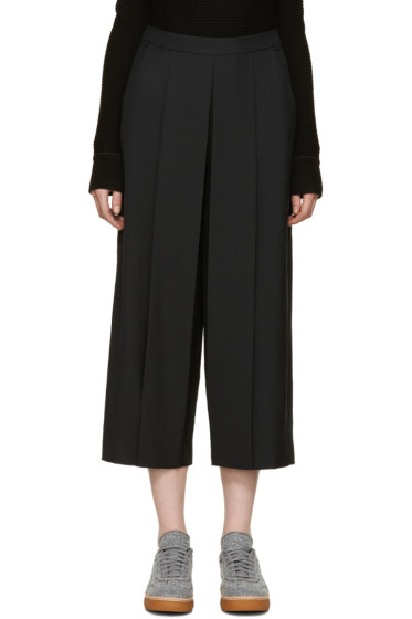 Alexander Wang - Black Pleated Trousers