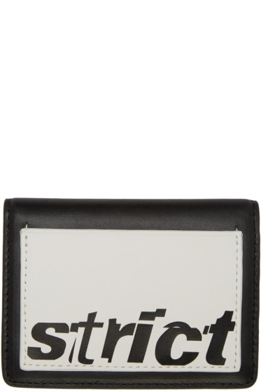 Alexander Wang - Black 'Strict' Card Holder