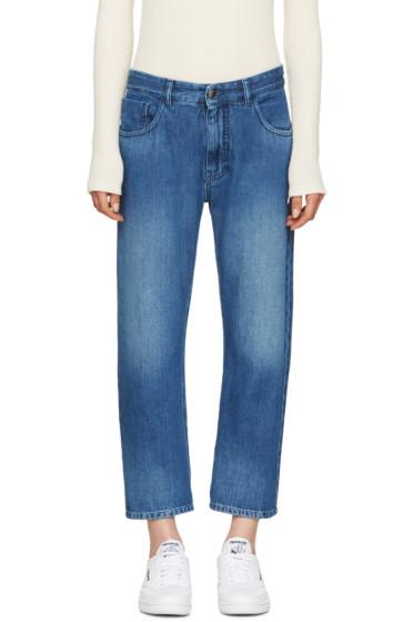 MM6 Maison Margiela - Blue Stonewashed Jeans