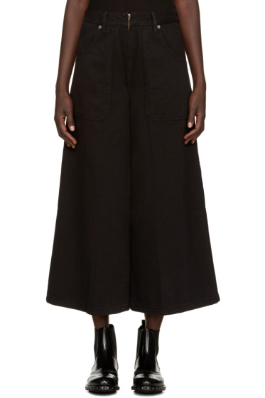 Marc Jacobs - Black Denim Culottes