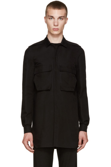 Rick Owens - Black Field Shirt