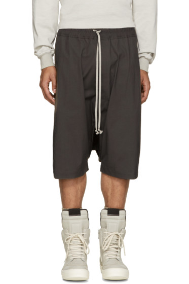 Rick Owens - Taupe Pods Shorts