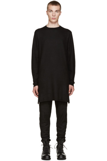 Rick Owens - Black Cashmere Sweater