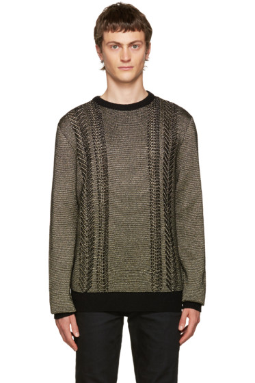 Balmain - Gold Crewneck Sweater