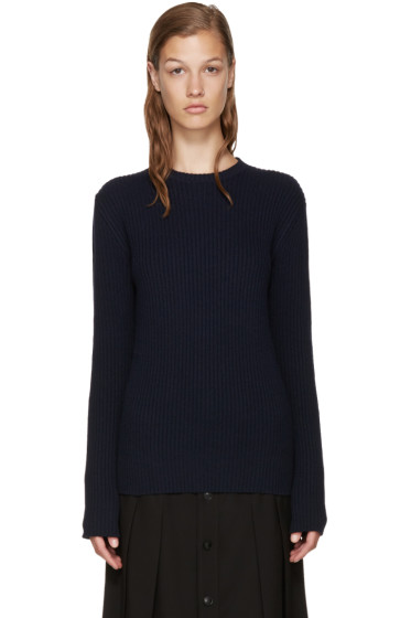 A.P.C. - Navy Socks Sweater