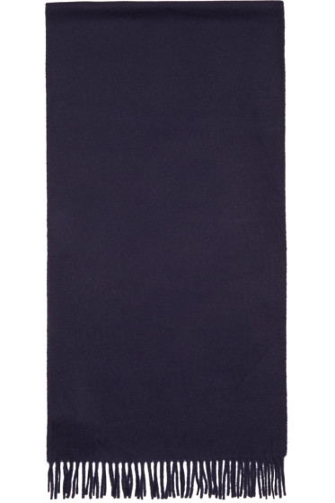A.P.C. - Navy Wool Scarf