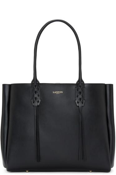 Lanvin - Black Small Shopper Tote