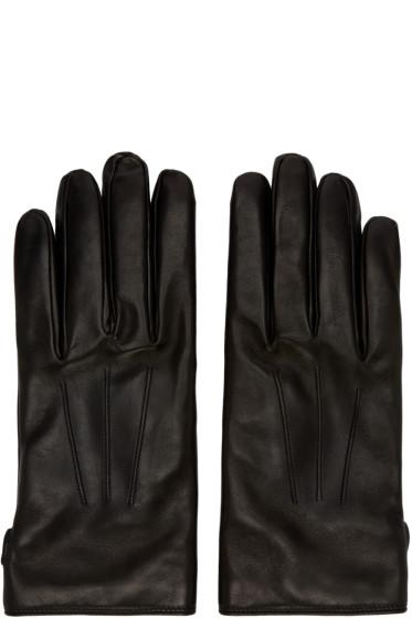 Lanvin - Black Lambskin Gloves